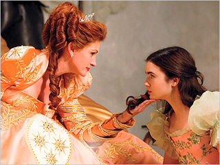 Julia Roberts is the Wicked Queen and Lily Collins is Snow White in this adaptation of the classic fairy tale.