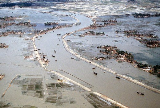 The flooding Worldwide has been greatly suppressed and the causes have ranged far and wide.