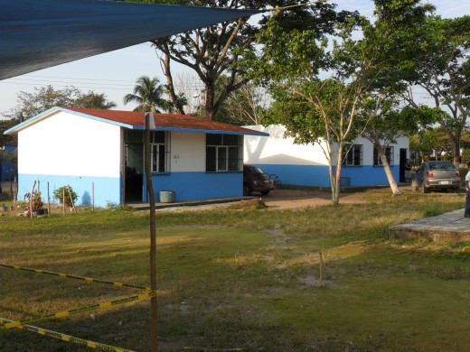 Two of the classrooms, Los Soldados