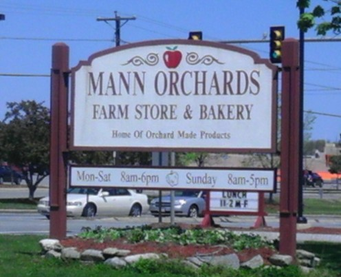 Mann Orchards in Methuen is right across from The Loop.