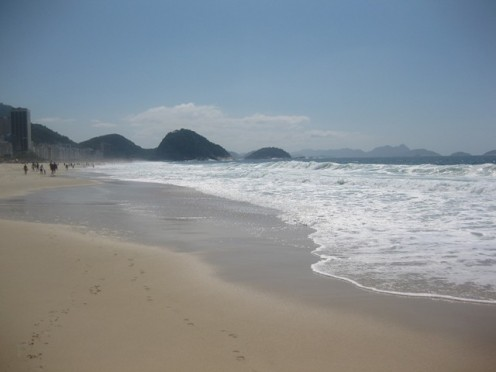 Ipanema beach is considered one of the world's best beaches.