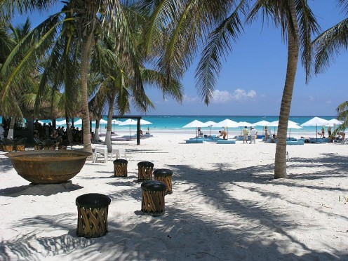 Tulum, Mexico offers much to vacationers, including its famous ruins and one of the best beaches in the world.