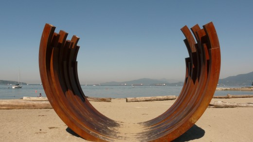 Sculpture Sunset Beach