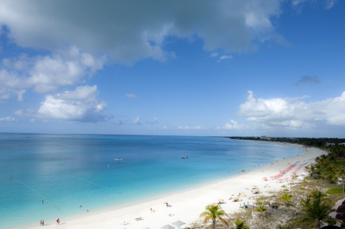 Grace Bay Beach is one of the world's best beaches as well as one of the most popular in the Turks and Caicos.