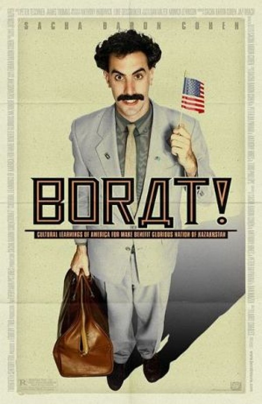 Borat (2006) is an example of Old Comedy.