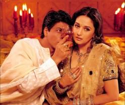 Shahrukh Khan and Madhuri Dixit in Devdas.