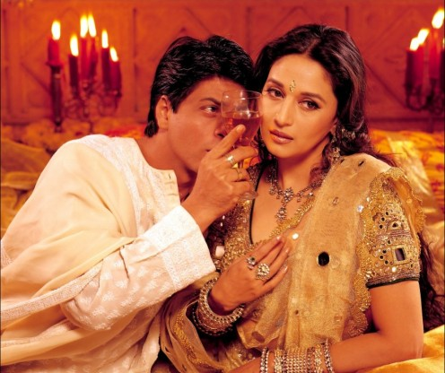 Shahrukh Khan and Madhuri Dixit in Devdas.