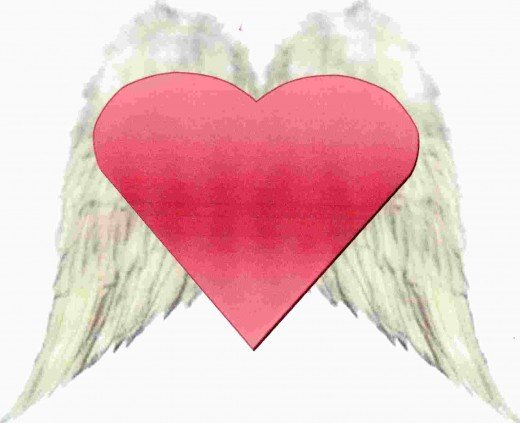 His heart was finally free to soar.