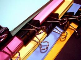 Colorful Office FIle Folders
