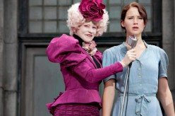 Katniss reluctantly volunteers as tribute.