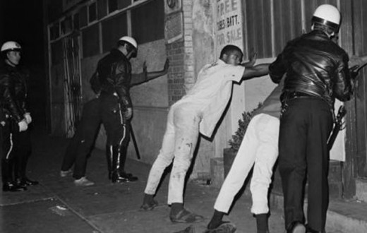Scene From the Watts Riots