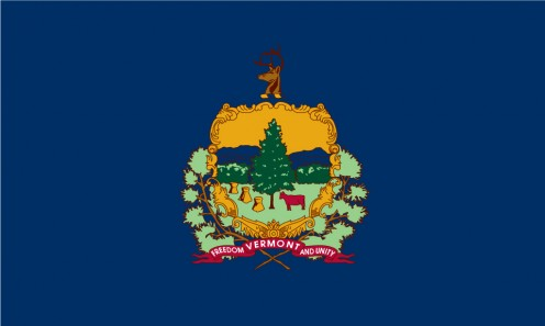 State flag of Vermont