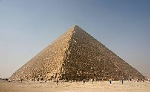 The Great Pyramid, built by Khufu