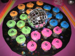 How To Make Disco Ball Birthday Cakes and Cupcakes