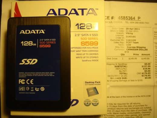120GB Solid State Drive