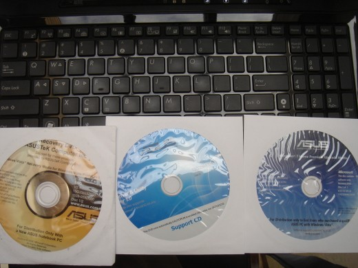 Installed Windows 7 Home Premium from the came with DVDs..