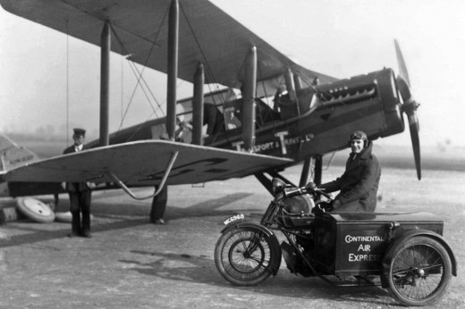 An Aircraft Transport & Traval De Havilland DH.16, circa 1920