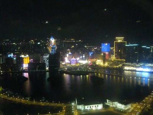 Macau from the Macau Tower