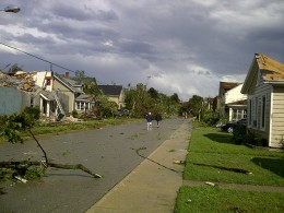 Destruction from a tornado (like this one in Canada) can be immense, with damage in the millions of dollars each year