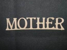 Mother cutout