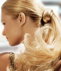 Hair twirling is bad for the ends of your hair so just stop doing it.