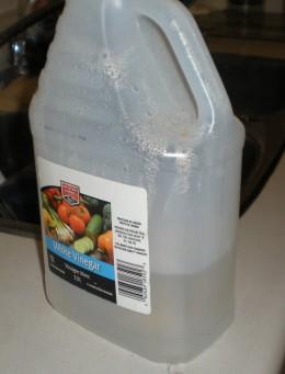 White vinegar has many uses
