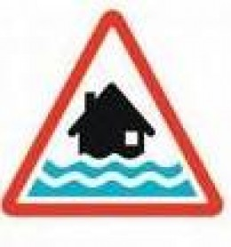 Red Alert [Flooding] is expected. Immediate action required.  Signs courtesy of  environment-agency.gov.uk