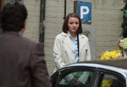Later, Derek tracks Alice down at her place of work