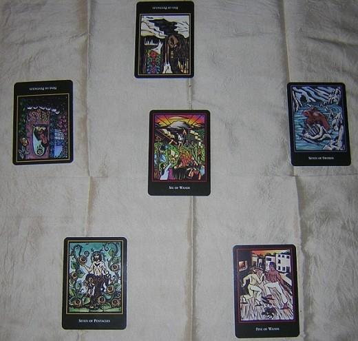 Tarot spread