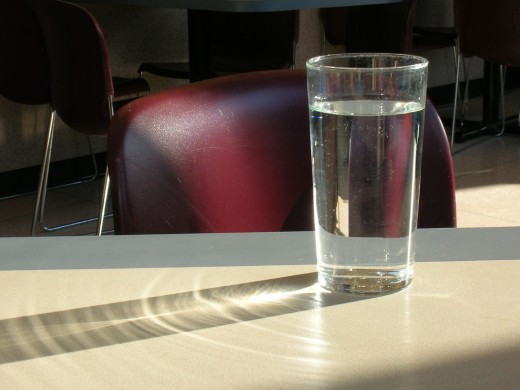 Just how much can this glass of water remember?
