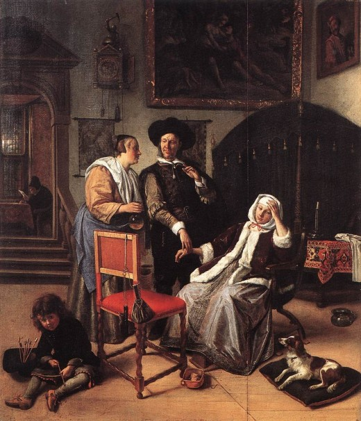 c. 1658 Doctor's Visit