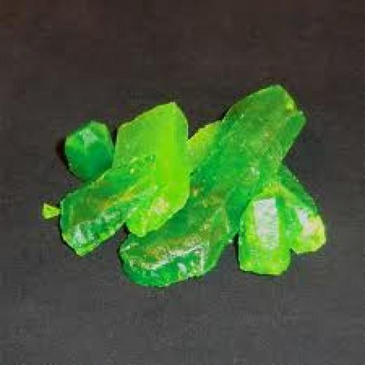 Green kryptonite kills