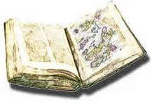 The bound pages of the Orkneyinga Saga - calf-skin was often used as writing material before paper came west from China many years later