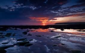 Birsay sunset on Mainland, Orkney