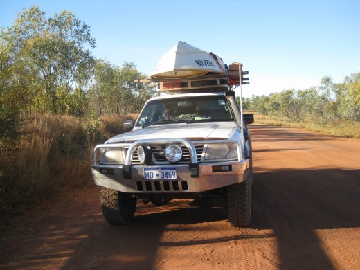 Traveling on Gibb River Road !