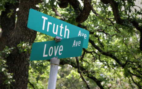 Speaking genuine truth is at the crossroads of love because it is ultimately in the best interest of your brother or sister to hear it.
