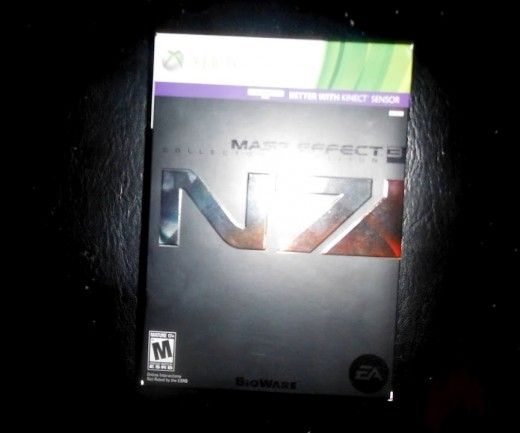My copy of Mass Effect 3