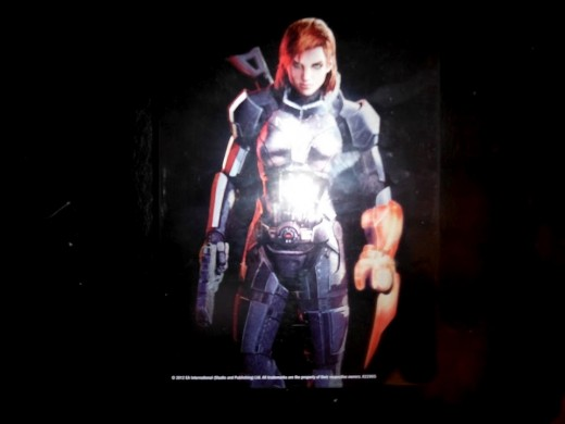 The front cover of the metal case that contains the disc in my Mass Effect 3 Collector's Edition
