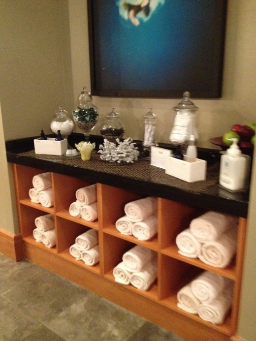 Guests are provided toiletries such as lotions, shampoo, deodorant, combs and razors.