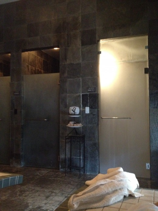 You can make use of the sauna and showers before exiting for the day.