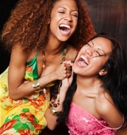 Frienships are like no other with girlfriends, together they can laugh out their deepest troubles!