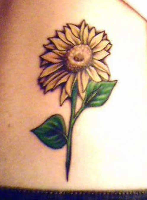 Sunflower Tattoo Designs