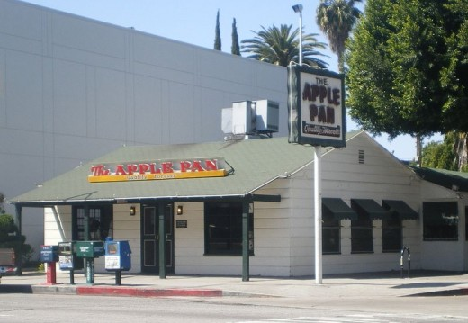 In addition to being one of Los Angeles' oldest continuing operating restaurants, The Apple Pan is notable as the basis for the popular Johnny Rockets chain of restaurants. Rockets founder Ronn Teitlebaum claimed he used The Apple Pan as a model for