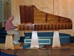 A Petal Harpsicord