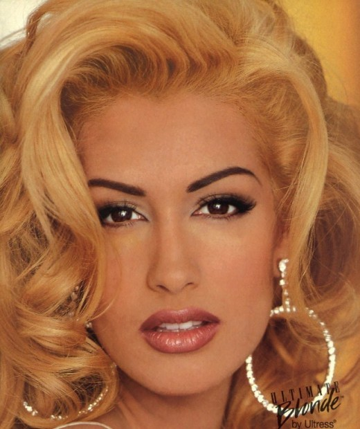 Yasmeen Ghauri -- Middle Eastern Blonde