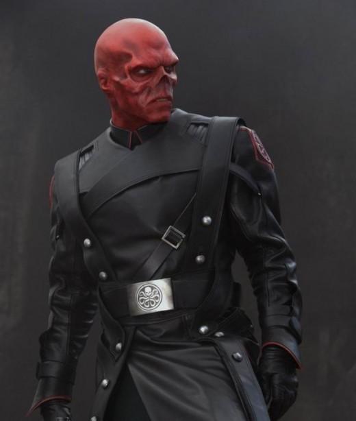 Hugo Weaving as The Red Skull in Captain America (2011)