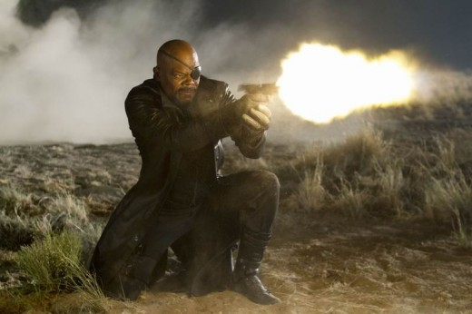 Samuel L. Jackson in The Avengers (2012)