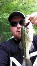Late April Largemouth Bass Fishing On A Lake