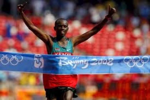 Samuel Wanjiru - Beijing, 2008