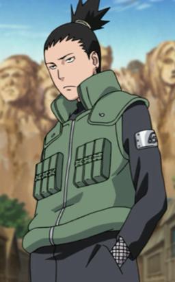 Shikamaru in Part II
